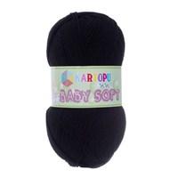 Kartopu Baby Soft Siyah Bebek Yünü - K940
