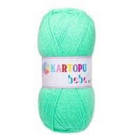 Kartopu Bebe Yeşil Bebek Yünü - K437