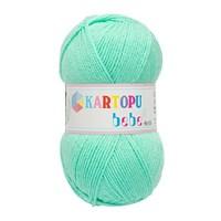 Kartopu Bebe Yeşil Bebek Yünü - K455