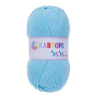 Kartopu Bebe Mavi Bebek Yünü - K502