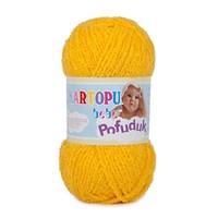 Kartopu Pofuduk Hardal Sarısı Bebek Yünü - K320