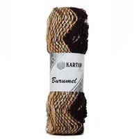 Kartopu Burumel Ebruli El Örgü İpi - K853