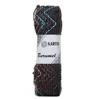 Kartopu Burumel Ebruli El Örgü İpi - K1003