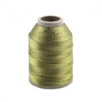 Kartopu Haki Yeşil Polyester Dantel İpliği - Kp731