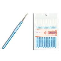 Kartopu 01 Numara Mavi Plastik Saplı Dantel Tığ