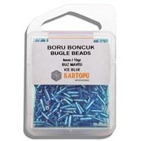 Kartopu 6 Mm Buz Mavisi Boru Boncuk - 04.112