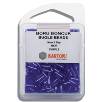 Kartopu 6 Mm Mor Boru Boncuk - 04.116