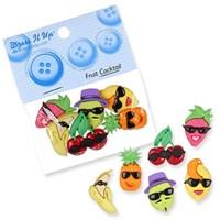 Kartopu Meyve Şeklinde Dekoratif Düğme - 6546