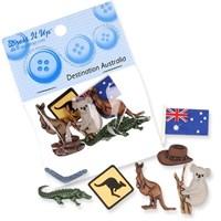 Kartopu Hayvancıklar Dekoratif Düğme 3983
