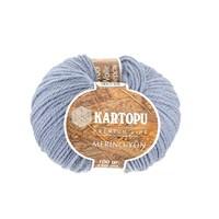 Kartopu Merino Mavi El Örgü İpi - K645