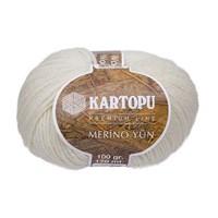 Kartopu Merino Beyaz El Örgü İpi - K335