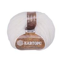 Kartopu Merino Beyaz El Örgü İpi - K010