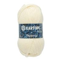 Kartopu Rapunzel Beyaz El Örgü İpi - K025