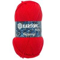 Kartopu Rapunzel Kırmızı El Örgü İpi - K150