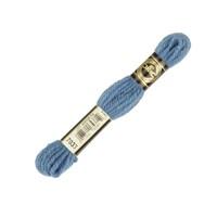 Dmc Yün Çile 8 M Mavi Nakış İpliği - 7033