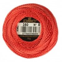 Dmc Koton Perle Yumak 10 Gr Kırmızı No:5 - 350