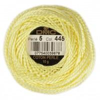Dmc Koton Perle Yumak 10 Gr Sarı No:5 - 445