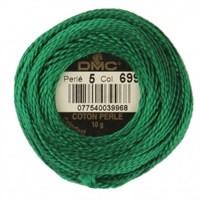 Dmc Koton Perle Yumak 10 Gr Yeşil No:5 - 699