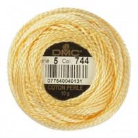 Dmc Koton Perle Yumak 10 Gr Sarı No:5 - 744