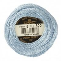 Dmc Koton Perle Yumak 10 Gr Mavi No:5 - 800
