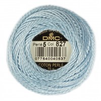 Dmc Koton Perle Yumak 10 Gr Mavi No:5 - 827