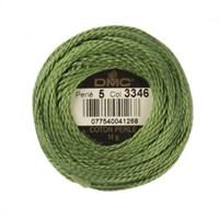 Dmc Koton Perle Yumak 10 Gr Yeşil No:5 - 3346