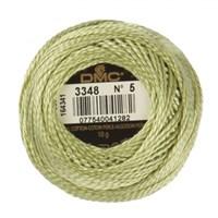Dmc Koton Perle Yumak 10 Gr Yeşil No:5 - 3348