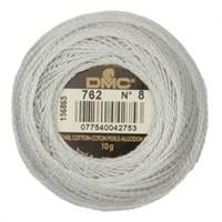 Dmc Koton Perle Yumak 10 Gr Beyaz No:8 - 762