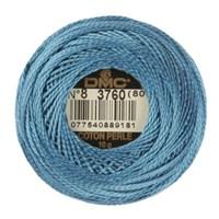 Dmc Koton Perle Yumak 10 Gr Mavi No:8 - 3760