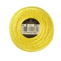 Dmc Koton Perle Yumak 10 Gr Sarı No:8 - 307