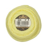Dmc Koton Perle Yumak 10 Gr Sarı No:8 - 445