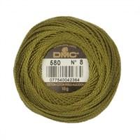 Dmc Koton Perle Yumak 10 Gr Yeşil No:8 - 580