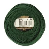 Dmc Koton Perle Yumak 10 Gr Yeşil No:8 - 890