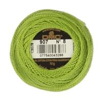 Dmc Koton Perle Yumak 10 Gr Yeşil No:8 - 907