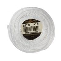 Dmc Koton Perle Yumak 10 Gr Beyaz No:8 - B5200
