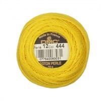 Dmc Koton Perle Yumak 10 Gr Sarı No:12 - 444