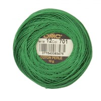 Dmc Koton Perle Yumak 10 Gr Yeşil No:12 - 701