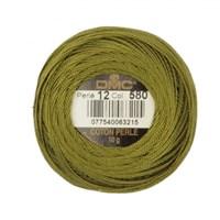 Dmc Koton Perle Yumak 10 Gr Yeşil No:12 - 580