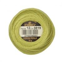 Dmc Koton Perle Yumak 10 Gr Yeşil No:12 - 3819