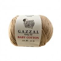 Gazzal Baby Cotton Bej Bebek Yünü - 3424