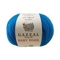 Gazzal Baby Wool Mavi El Örgü İpi - 822
