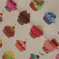 La Mia 50X50 Cm Cupcake Desenli Keçe