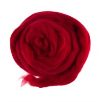 Gazzal Felt Wool Kırmızı Yün Keçe - 6114