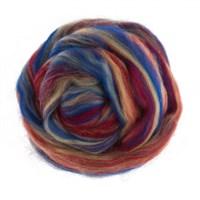 Gazzal Felt Wool Karışık Renk Ebruli Yün Keçe - 6117