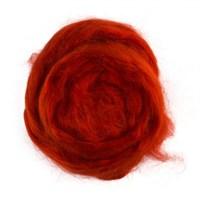 Gazzal Felt Wool Lurex Kırmızı Yün Keçe - 6503