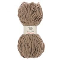 Gazzal Pure Wool Bej El Örgü İpi - 5244