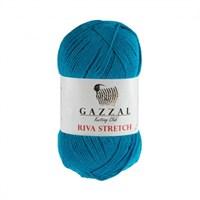 Gazzal Riva Stretch Mavi El Örgü İpi - 2110