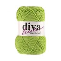 Diva Line Makrome Fıstık Yeşili El Örgü İpi - 2500