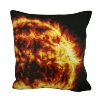 Collection D'art 40X40 Cm Güneş Desenli Goblen Yastık Kiti
