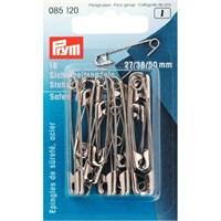 Prym 18 Adet Gümüş Çengelli İğne - 085120